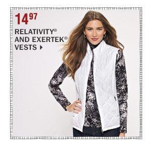 14.97 Relativity® and Exertek® vests