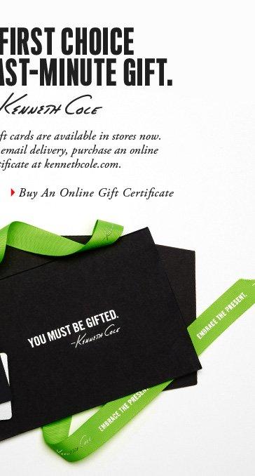 Buy An Online Gift Certificate