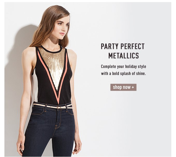 Party Perfect Metallics - Shop Now