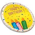 Happy Birthday Iced Cookie Cake