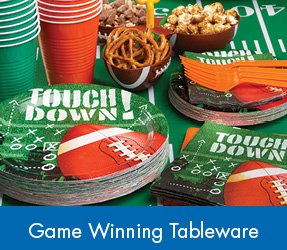 Game Winning Tableware