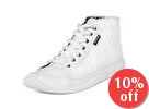 Patent Faux Leather Sneakers