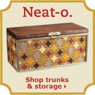Shop trunks & storage