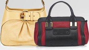Gucci, Chloe and Dior Handbags