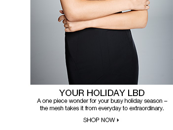 Holiday LBD