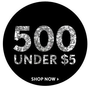 500 Under $5