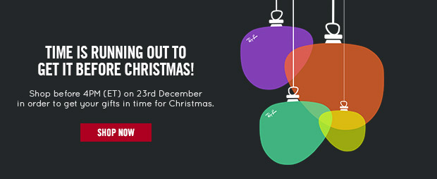 Time is running out to get it before Christmas!