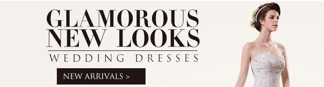 Glamorous New Looks Wedding Dresses