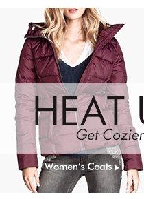 Heat up the season witn Women's Coats