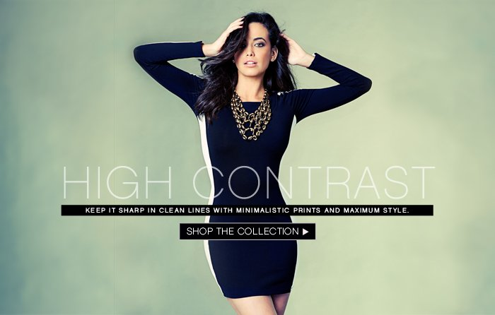 SHOP THE HIGH CONTRAST LOOK BOOK