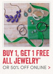 Buy 1, Get 1 Free All Jewelry
