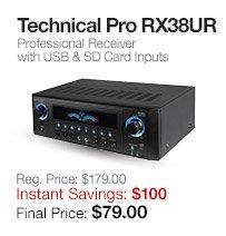 Technical Pro RX38UR