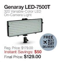 Genaray LED-7500T