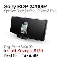 Sony RDP-X200IP