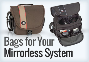 Bags for mirrorless
