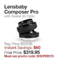 Lensbaby Composer Pro