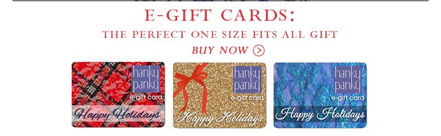 E-Gift Cards: The Perfect One Size Fits All