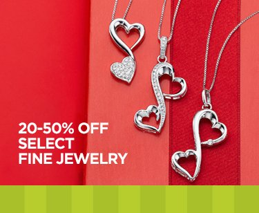 20-25% OFF SELECT FINE JEWELRY