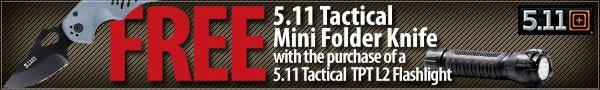 Free 5.11 Mini Folding Knife