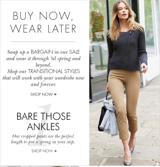 Download Images: Buy now wear later
