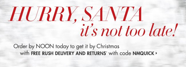 Free Rush Delivery