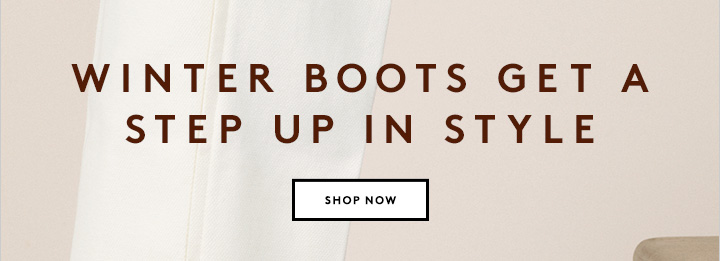 Is your footwear winter-ready? Shop shoes and more now.