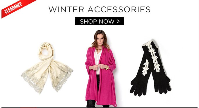 Winter Accessories. Shop Now