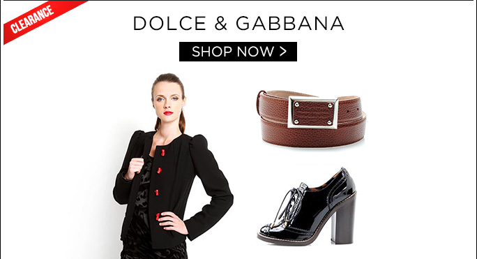 Dolce & Gabbana. Shop Now