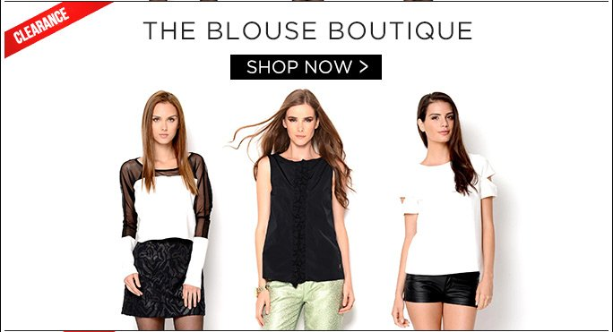 The Blouse Boutique. Shop Now