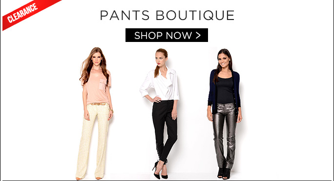 Pants Boutique. Shop Now