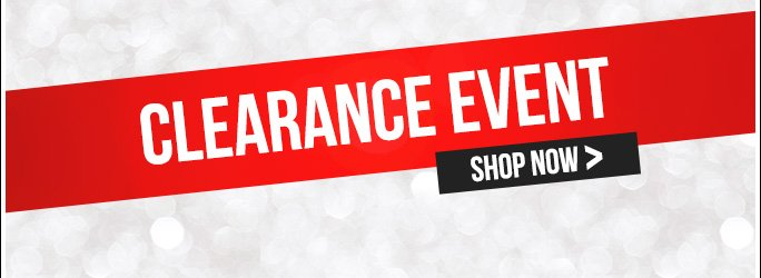 Clearance Event. Shop Now