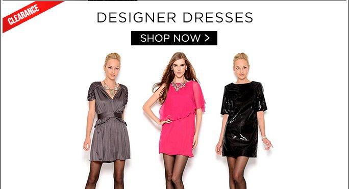 Designer Dresses. Shop Now