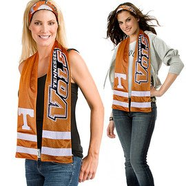 Wrapped in Spirit: NCAA Scarves