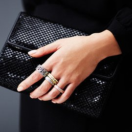 Trimmed in Bling: Women's Rings