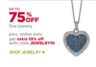 UP TO 75% OFF fine jewelry | SHOP JEWELRY