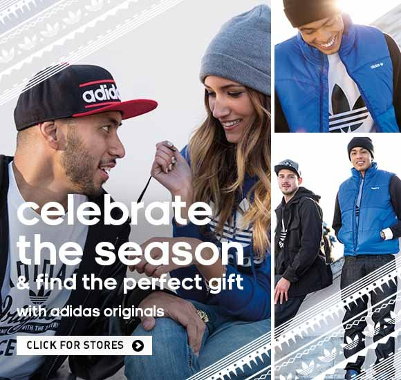 celebrate the season and find the perfect gift with adidas originals, click for stores