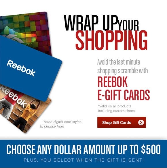 WRAP UP YOUR SHOPPING