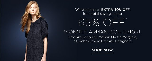Up to 65% off Women's Premier Designers