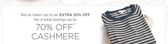 Up to 65% off Cashmere