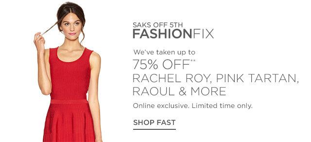 Up to 75% off Rachel Roy, Pink Tartan & more