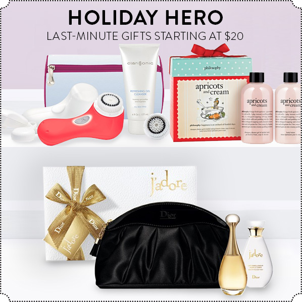 HOLIDAY HERO - LAST-MINUTE GIFTS STARTING AT $20