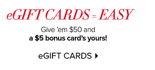 eGIFT CARDS