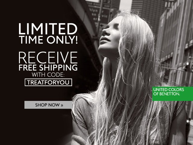 Relax and Enjoy Free Shipping on all orders: TREATFORYOU
