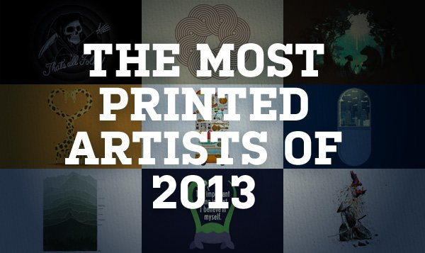 Most Printed of 2013