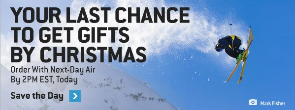 Your Last Chance to Get Gifts by Christmas