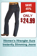 Womens Aura Instantly Slimmnig Jeans
