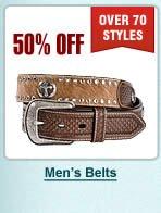 Half Off Mens Belts