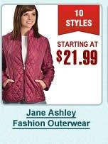 Jane Ashley Fashion Outerwear