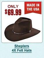 Stetson 4X Felt Hats