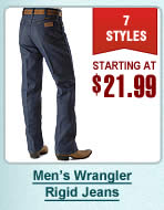 Mens Wrangler Rigids Jeans